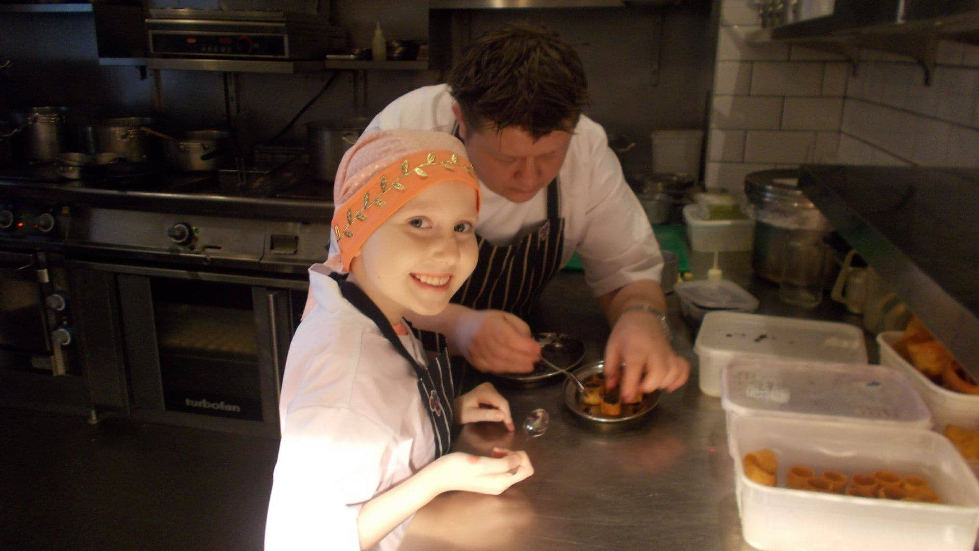 Ellies Dream Day in The Kitchen with Mark Greenaway