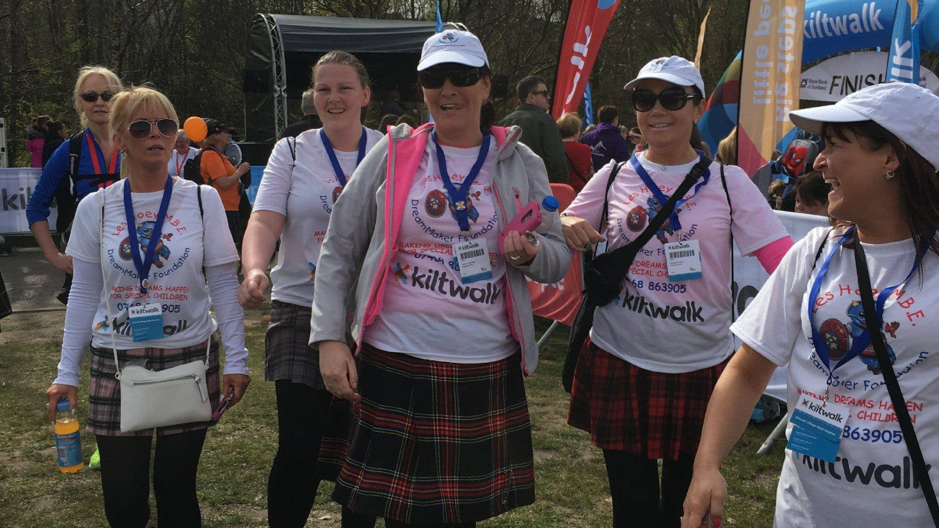 The Kiltwalk 2016
