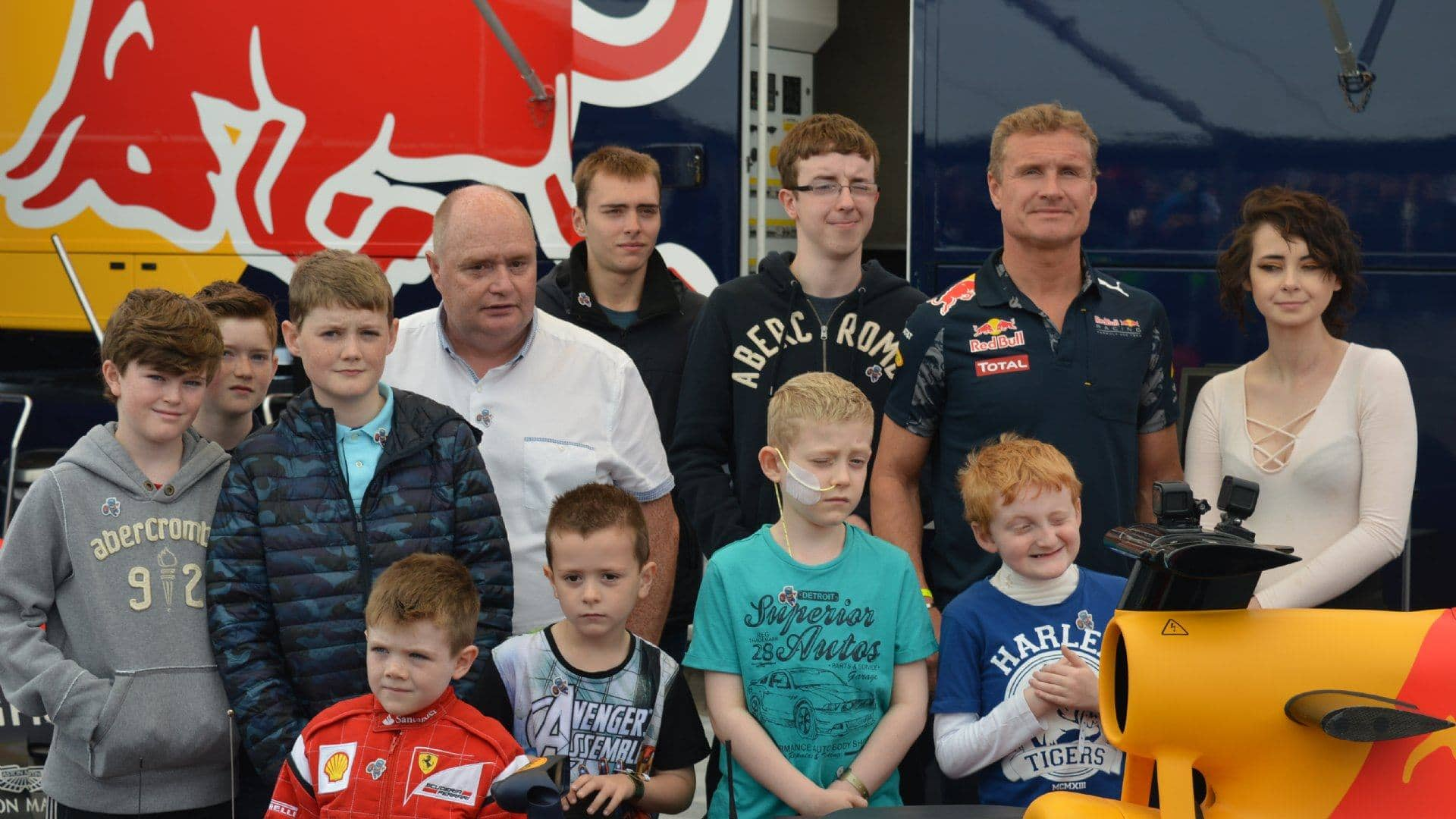 A Day with David Coulthard at Ignition